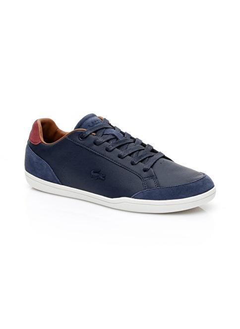 Lacoste Bağcıklı Spor Ayakkabı Lacivert